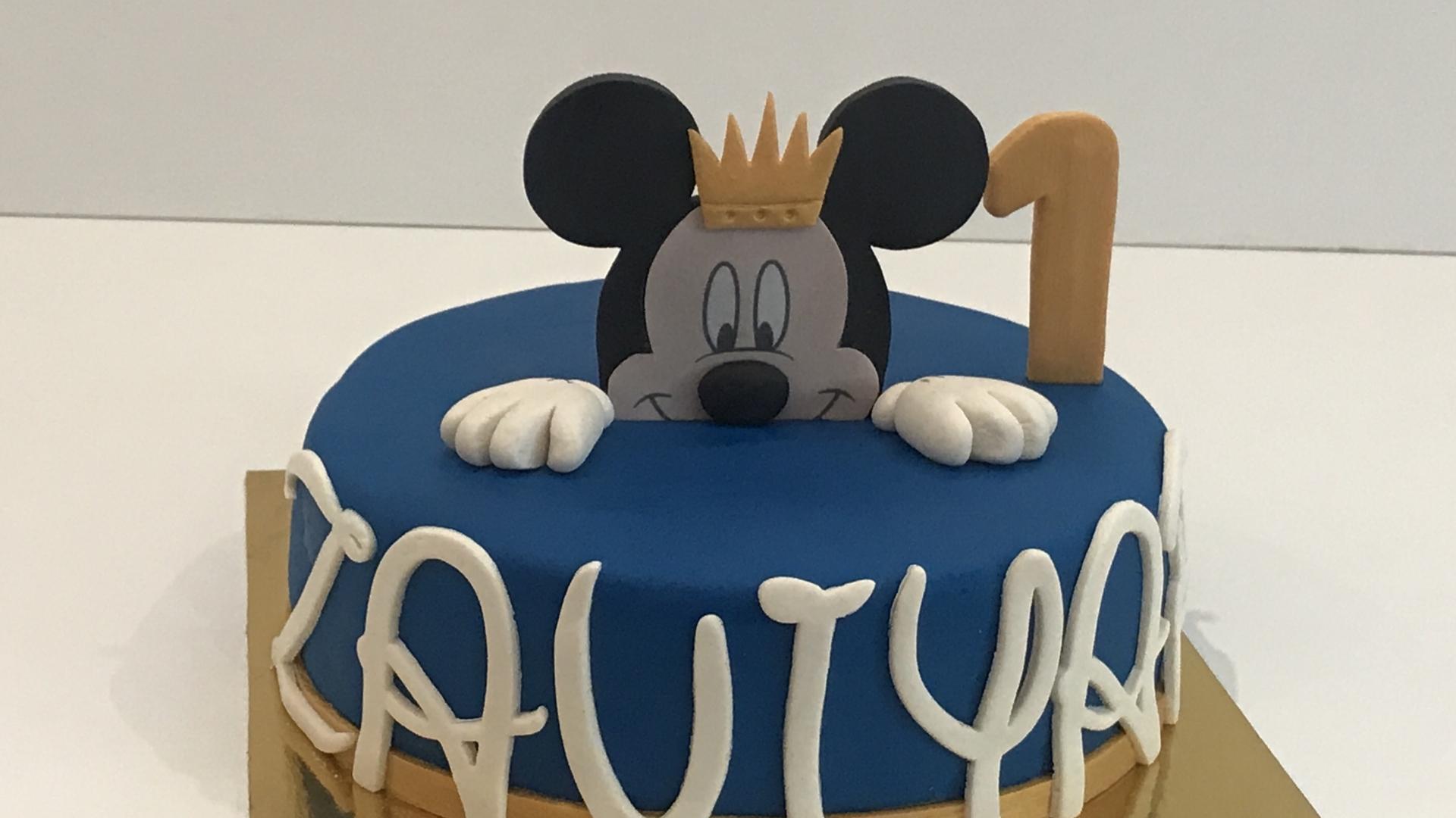 Mickey Mouse taart ZAVIYAR