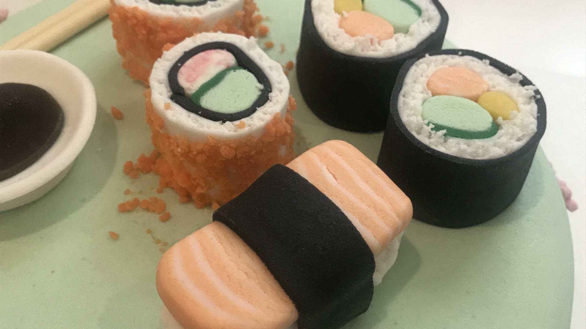 Sushi taart BRITT 1