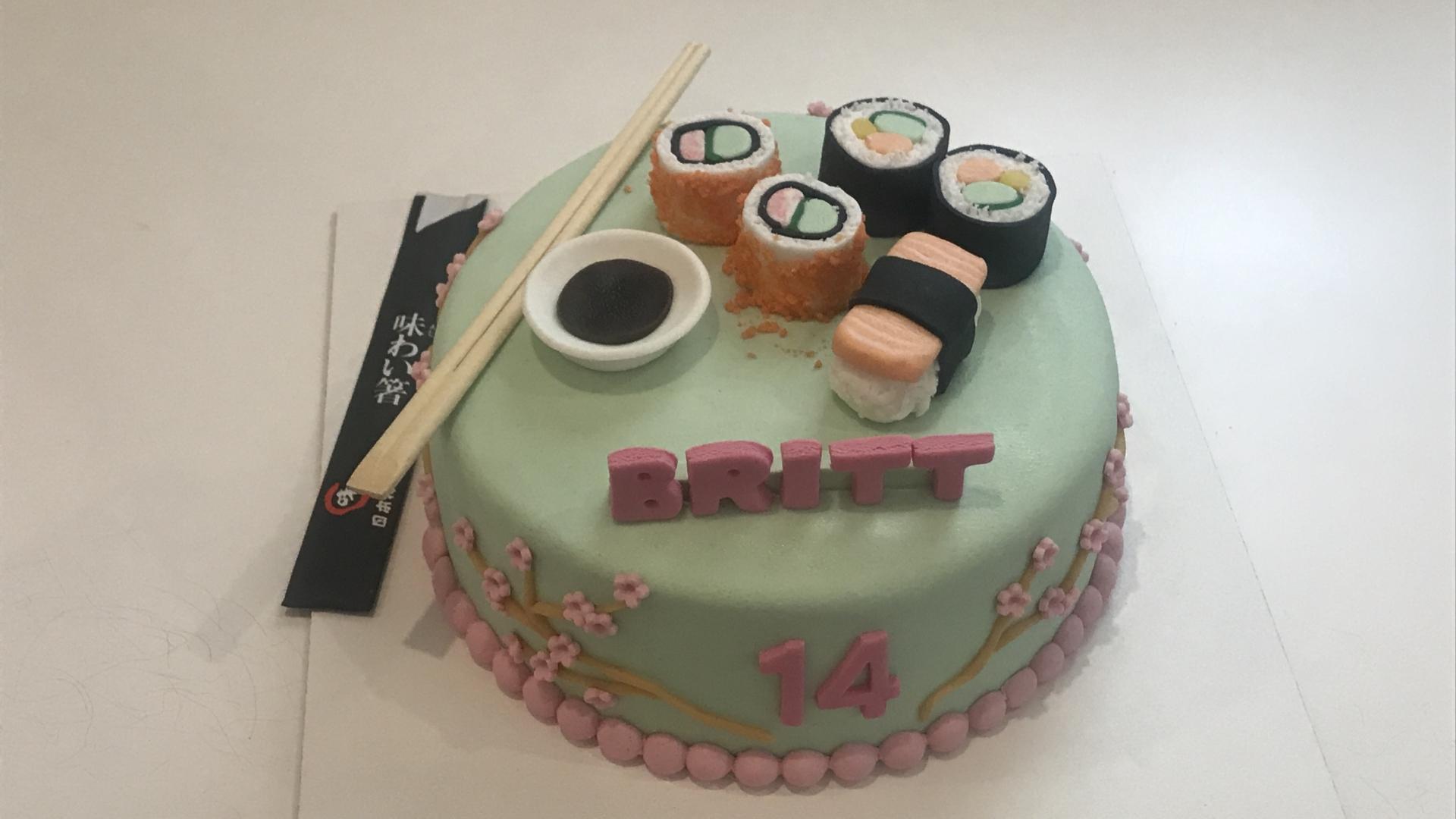 Sushi taart BRITT