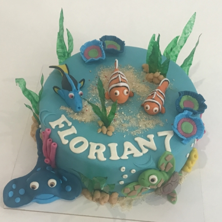 Vissen taart Florian
