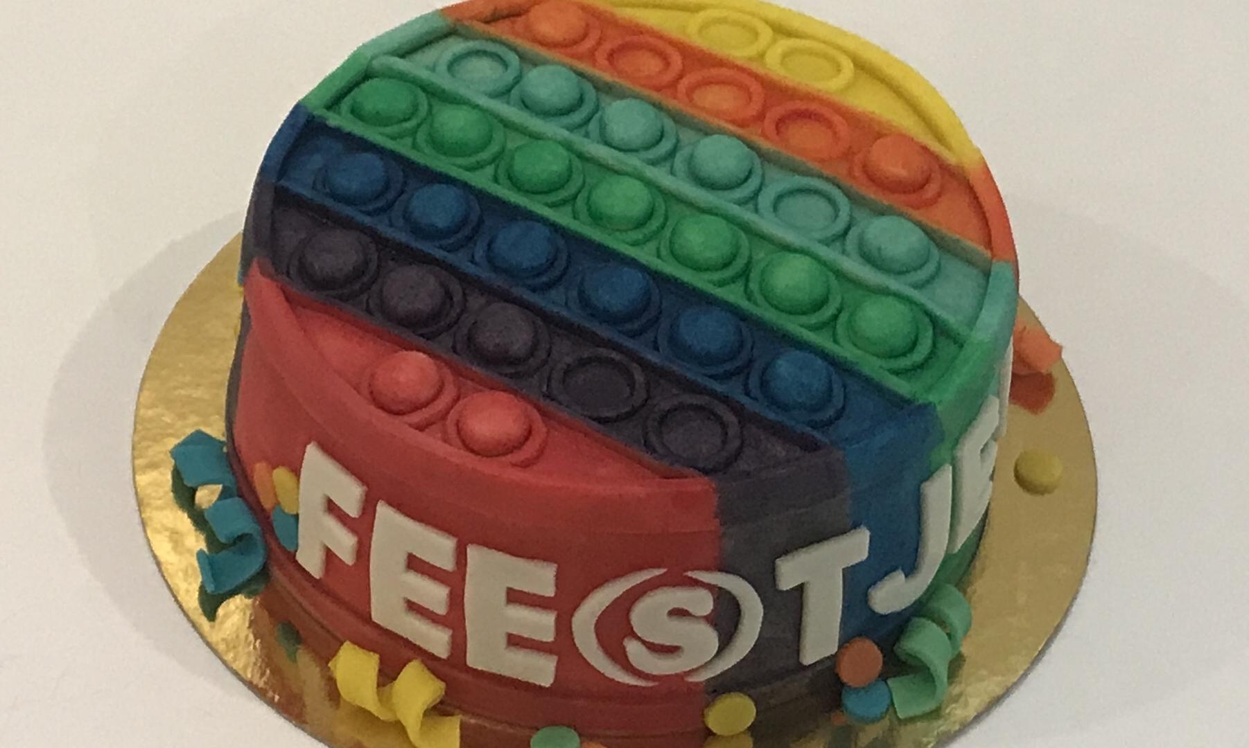 Pop-it taart