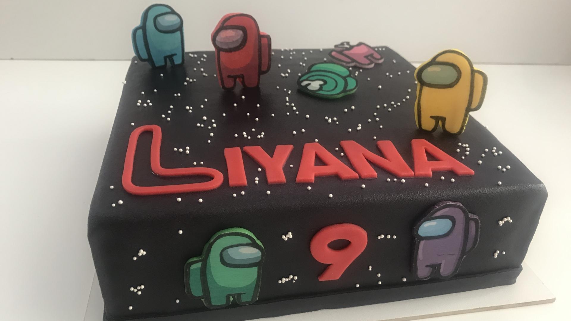Among us taart LIYANA